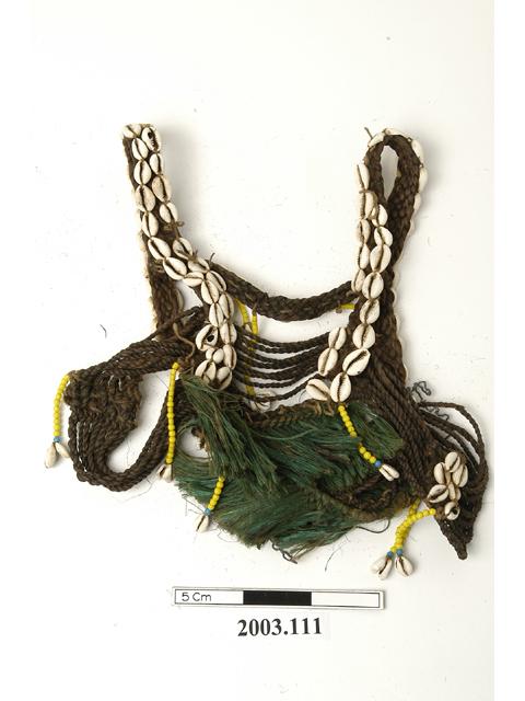 garment; shoulder straps