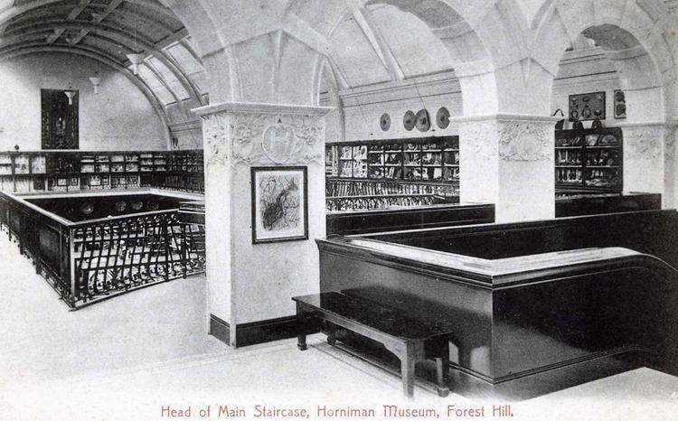 Head of Main Staircase, Horniman Museum, Forest Hill