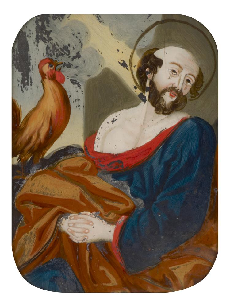 glass painting (ritual & belief: representations)