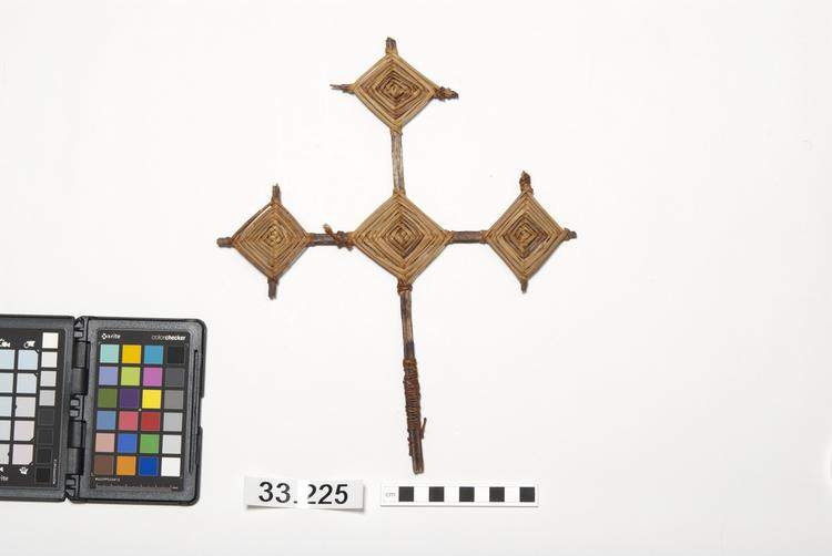 Frontal view of front of Horniman Museum object no 33.225
