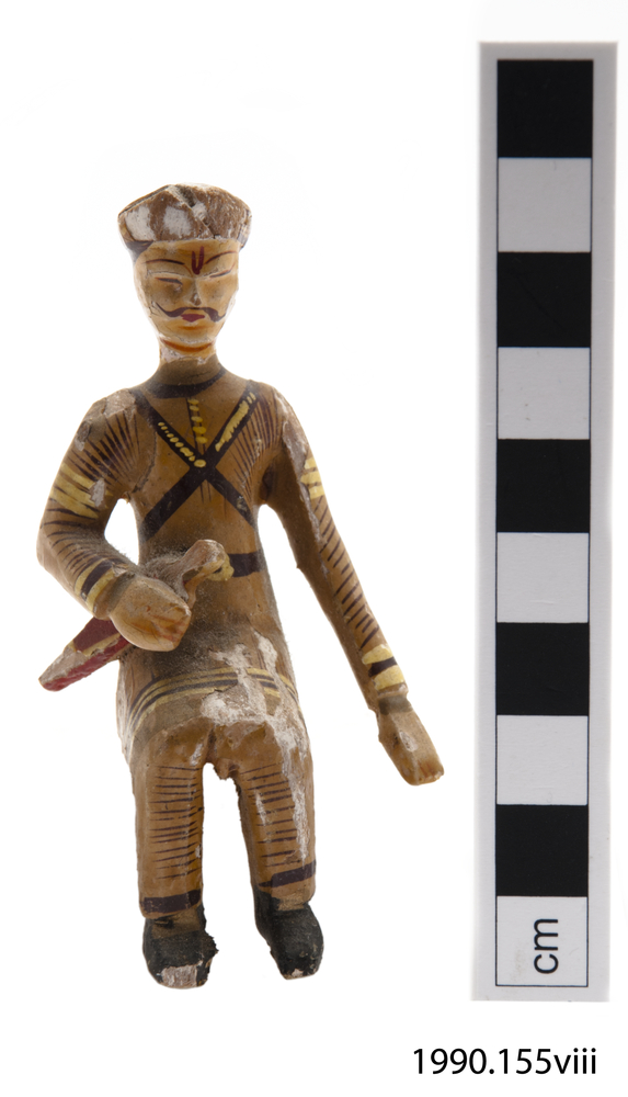 Frontal view of whole of Horniman Museum object no 1990.155viii