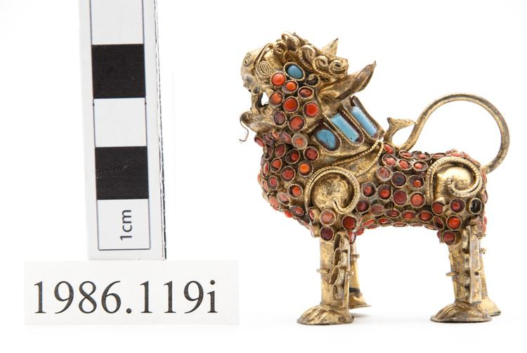 Left side view of whole of Horniman Museum object no 1986.119i