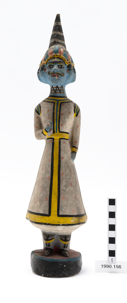 Frontal view of whole of Horniman Museum object no 1990.156