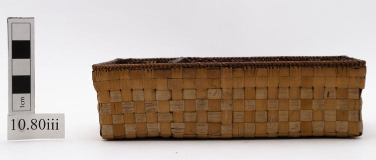 betel set container; basket (containers)