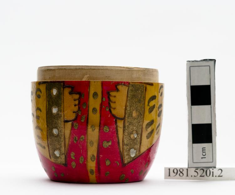 Frontal view of whole of Horniman Museum object no 1981.520i.2