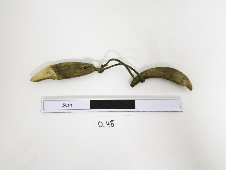 Frontal view of whole of Horniman Museum object no 0.45a