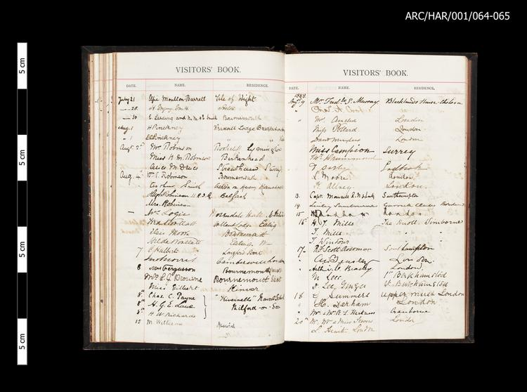 Hart's Museum Visitor Books