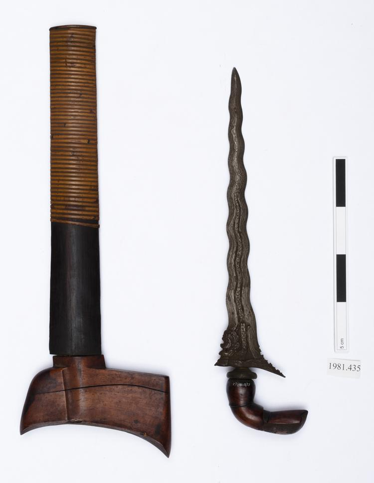 General view of whole of Horniman Museum object no 1981.435