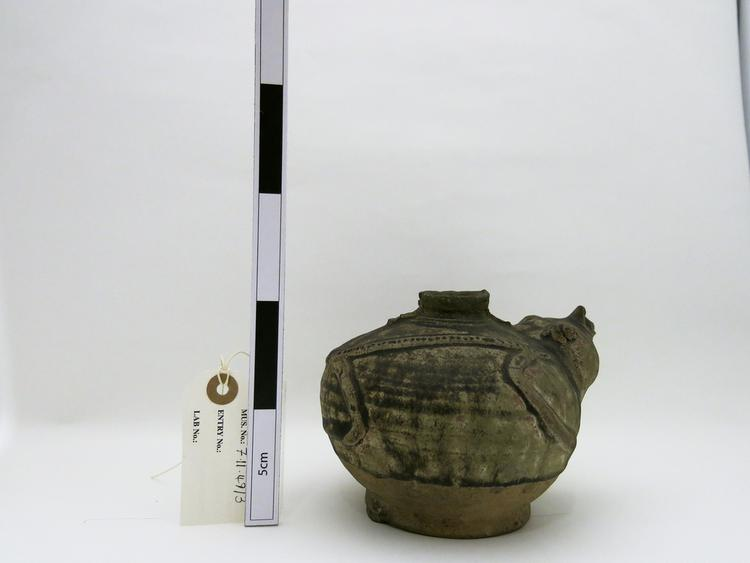 Left side of whole of Horniman Museum object no 7.11.49/3