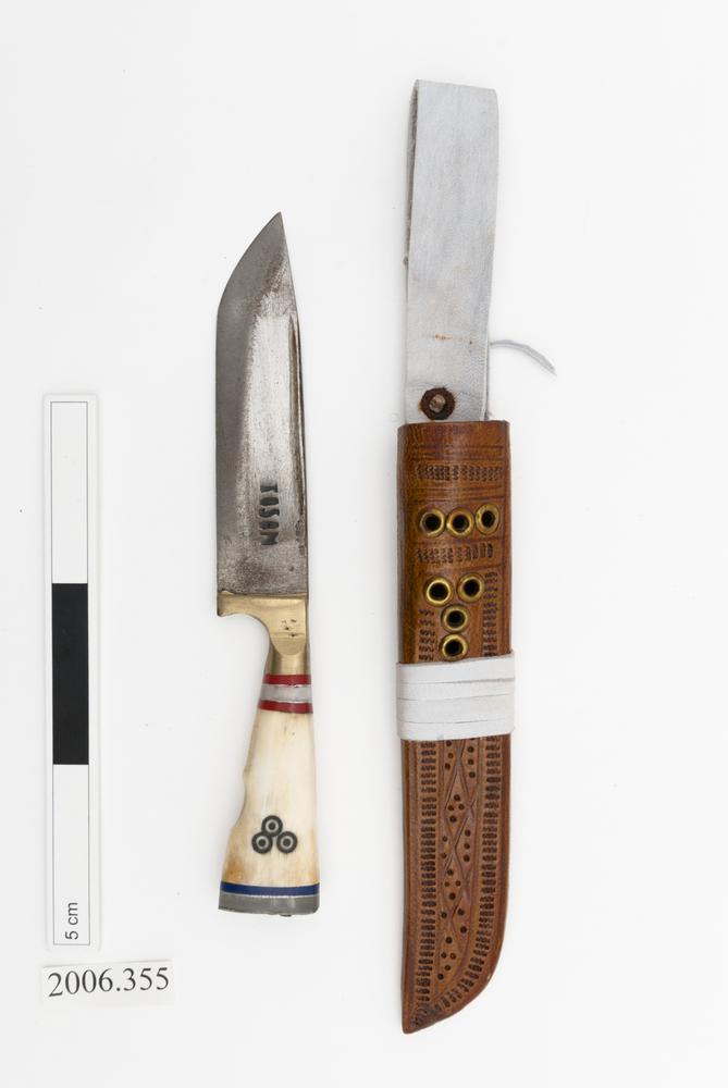 knife (general & multipurpose); knife sheath (sheath (general & multipurpose))