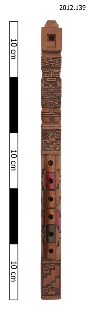 Frontal view of whole of Horniman Museum object no 2012.139
