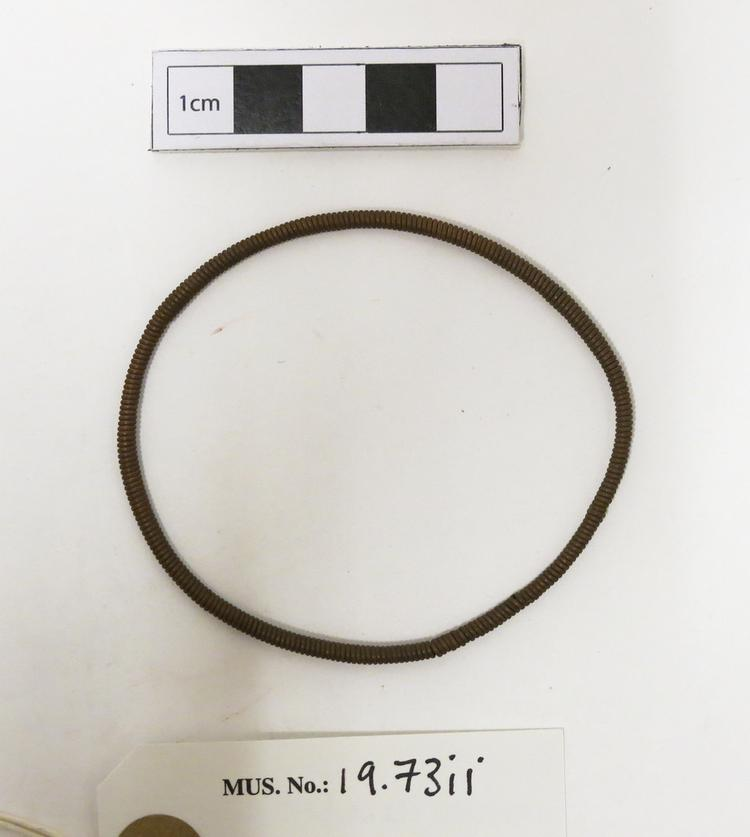 Top view of whole of Horniman Museum object no 19.73ii