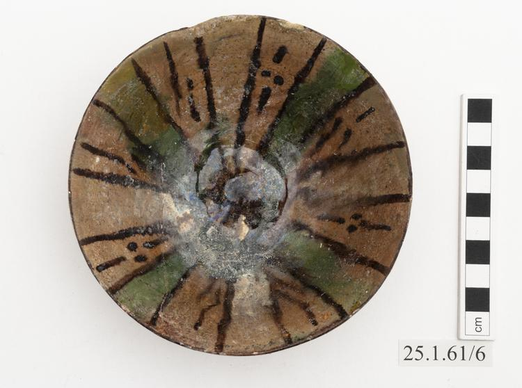 Top view of whole of Horniman Museum object no 25.1.61/6