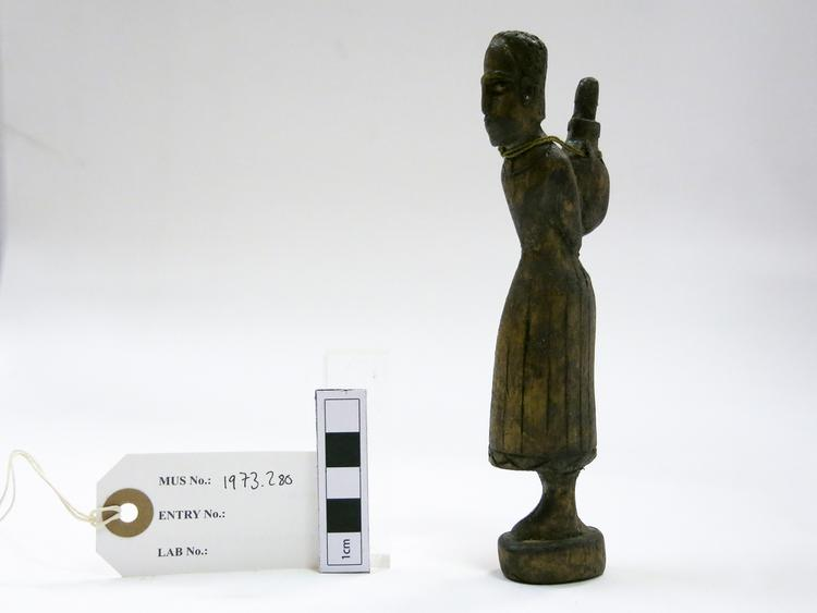 General view of whole of Horniman Museum object no 1973.280