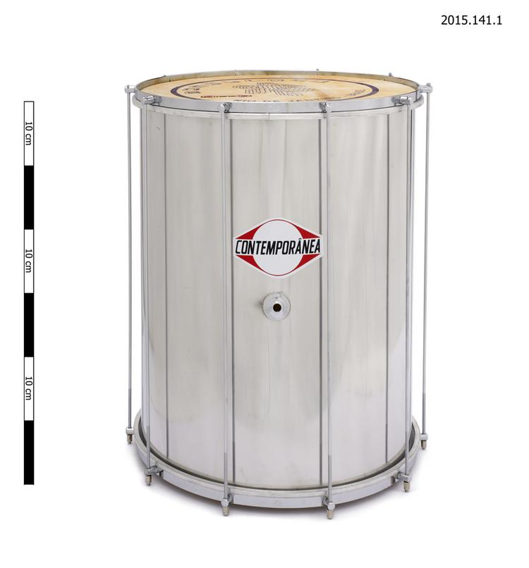 cylindrical drum; surdo