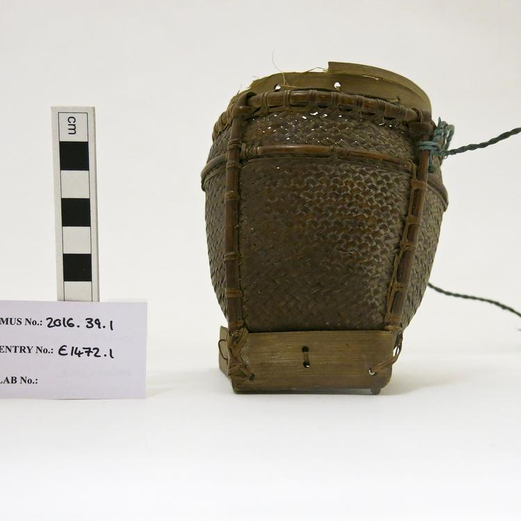 medicine container; basket (containers)