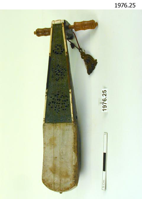 rebab; necked fiddle
