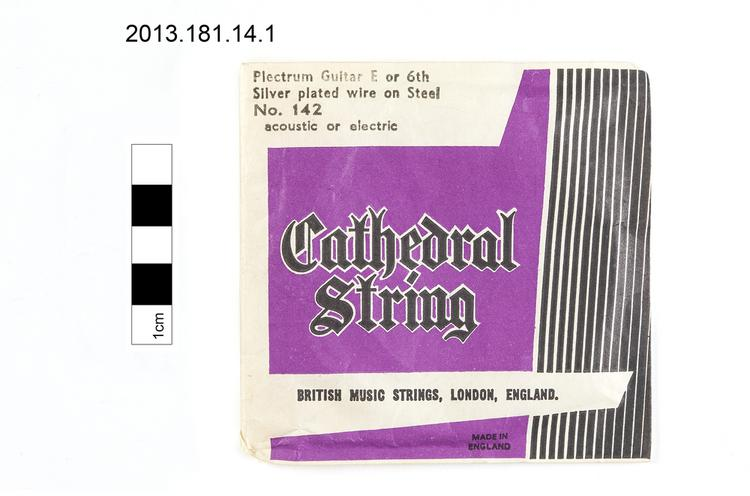 zither; envelope (documentary artefact)