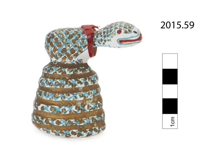 Left side of whole of Horniman Museum object no 2015.59