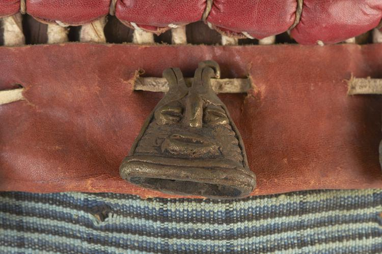 Detail view of bell of Horniman Museum object no 2016.144