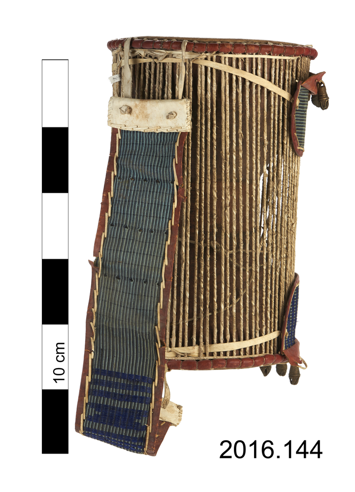Rear view of whole of Horniman Museum object no 2016.144