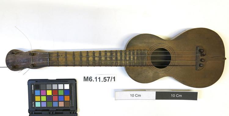 machete; guitar