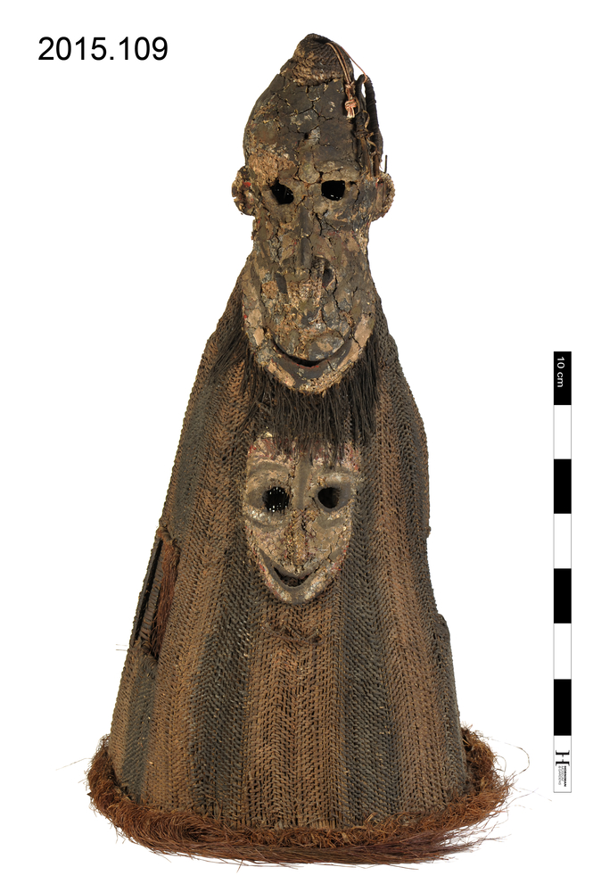 Frontal view of whole of Horniman Museum object no 2015.109