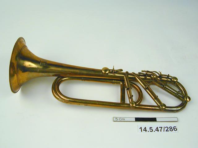 Image of keyed trumpet (museum no. 14.5.47/286)