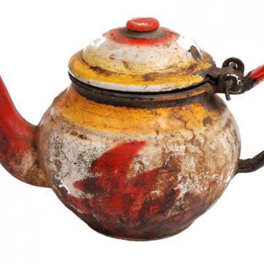 handpainted pot