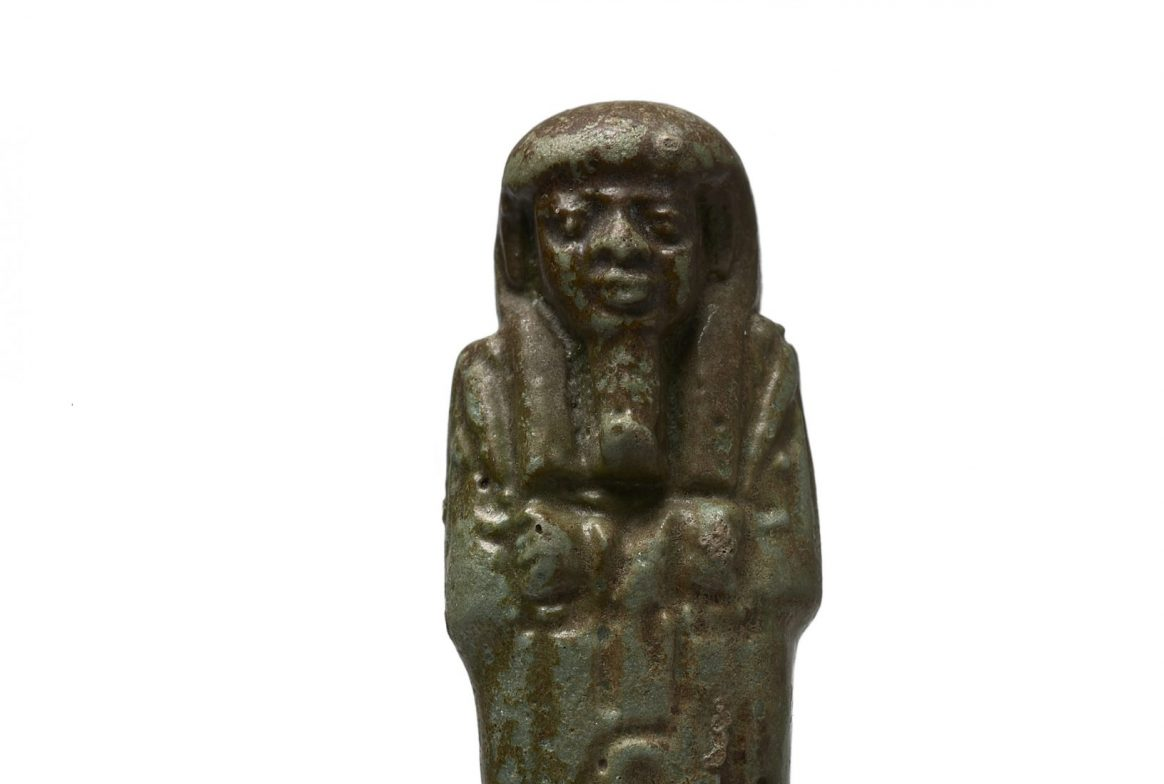 Gold figurine of Egyptian figure