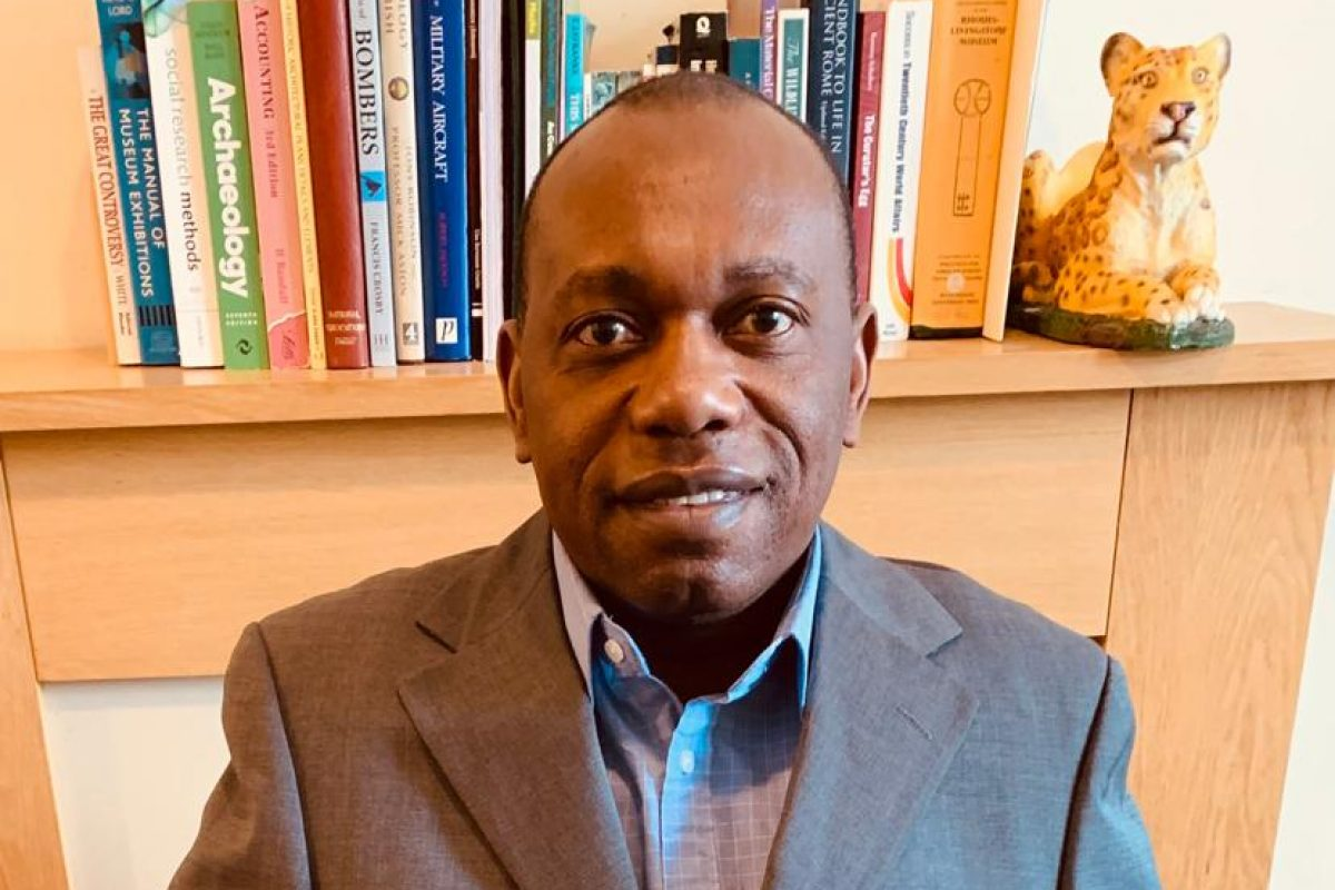 Bernard Musesengwe portrait