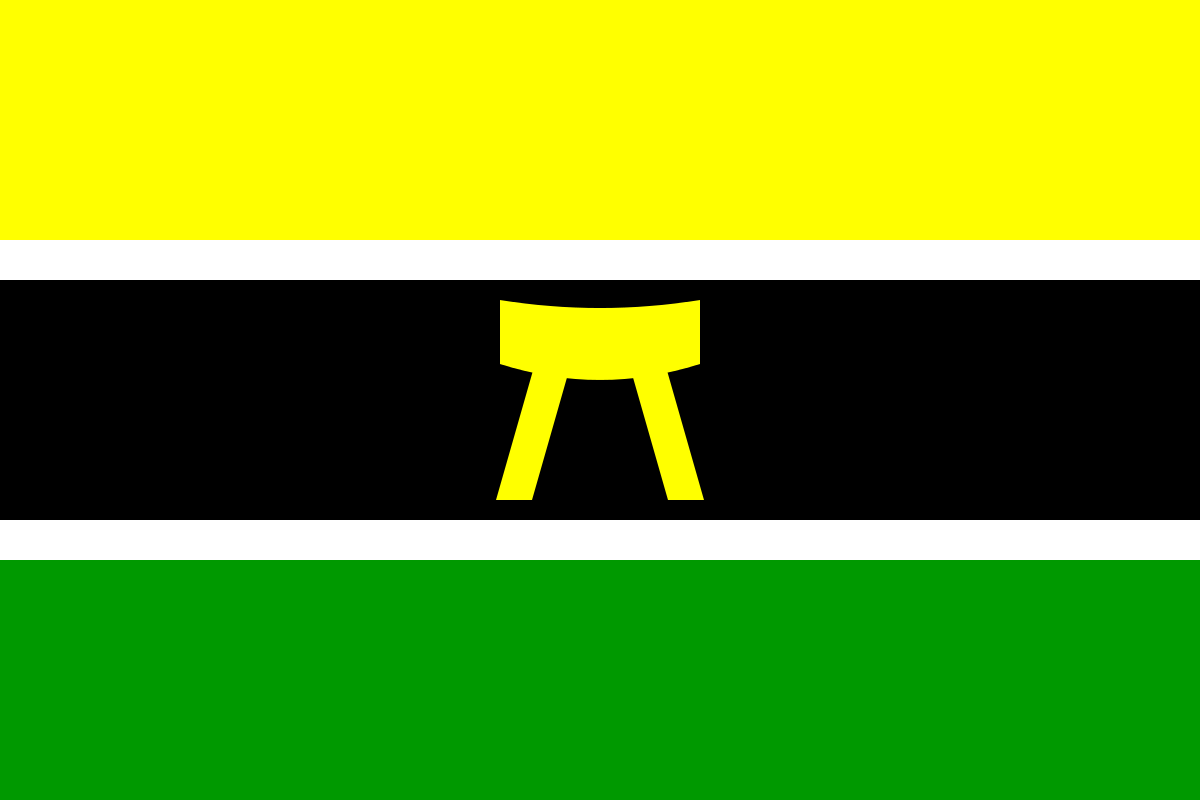 The Asante flag