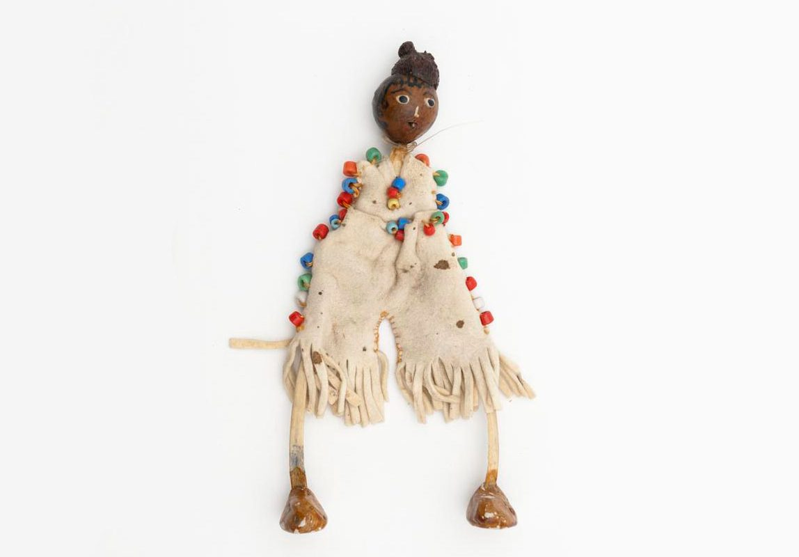A doll made from an acorn