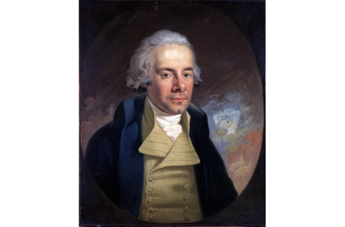 Painting of portait of man