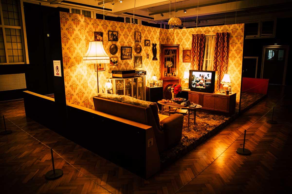 A windrush era living room
